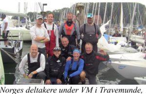 Norges deltakere under YOWC i Tavemünde, Tyskland